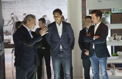 As.com - Almeria - Pendant sa visite, Rafa parle des J.O
