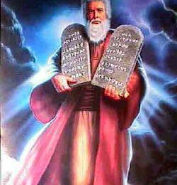 La Torah de Dieu que Moïse à révélé au monde.