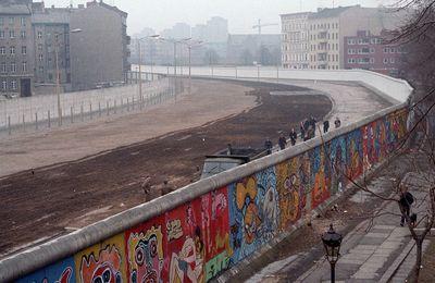 La chute du Mur de Berlin.