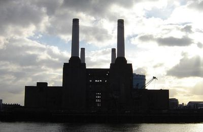 Battersea Park & Power Station LONDON UK