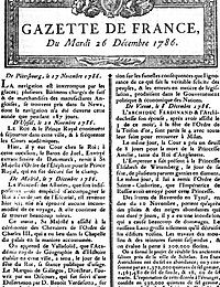 30 mai 1631: Publication de La Gazette - Premier journal français