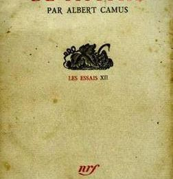 Coup de coeur... Albert Camus...