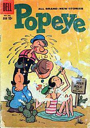 El secreto de Popeye por fin descubierto.