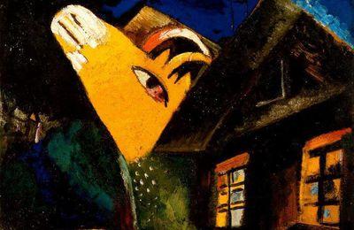 Les vaches de Marc Chagall