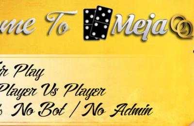 Mejaqq.com Agen Judi Poker Dominoqq Bandarq Online Terbesar di Asia