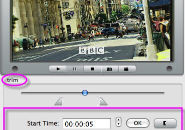 MPG Video Cutter for Mac - cut MPG file movies on Mac OS