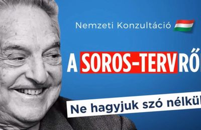 "Hongrie : consultation nationale contre le "" plan Soros """