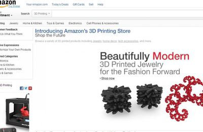 Amazon lance une boutique d'impression 3D