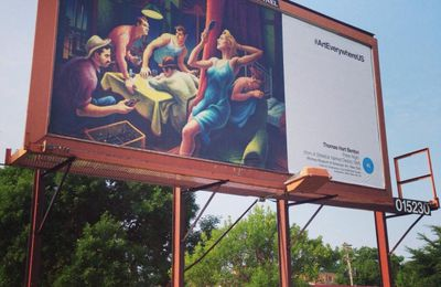 """Art Takes Over 50,000 Outdoor Ad Spaces in the..."