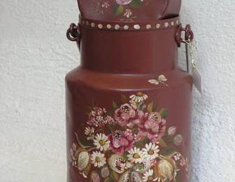 Pots à lait décorés - 2