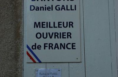 Ansouis : la crèche et les santons de Daniel Galli, Meilleur Ouvrier de France