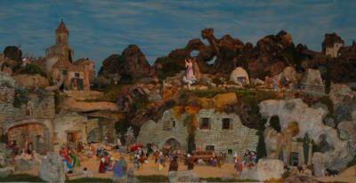 La crèche provençale des Saintes Maries de la Mer 2010