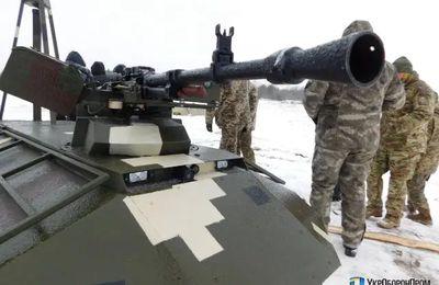 "Ukraine: le robot terrestre armé ""Phantom"""