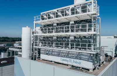 Transformer le CO2 avec Climeworks