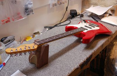 Remplacement manche Fender Stratocaster