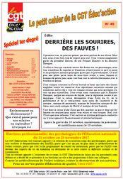 Le Petit Cahier N°45