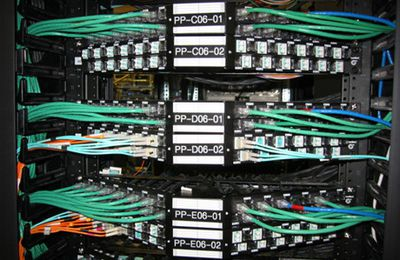 An Eye on the Copper Patch Panels
