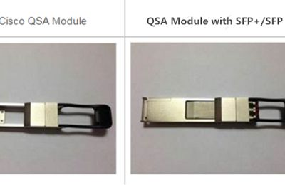QSFP+ to SFP+ Adapter (QSA) Module Vs. QSFP+ to SFP+ Breakout Cable