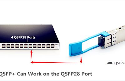 Can I Use QSFP+ Optics on the QSFP28 Port?