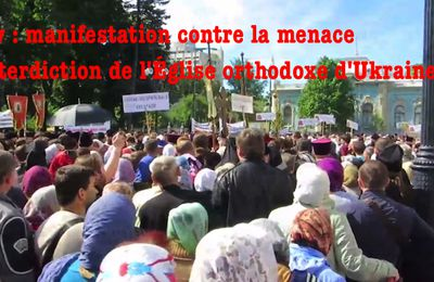 Les orthodoxes manifestent !!!