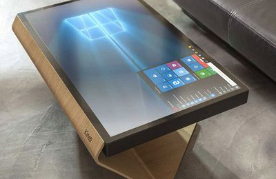 #Kineti: une table Windows 10 made in france