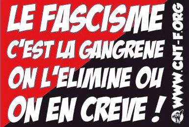 Agression fasciste.