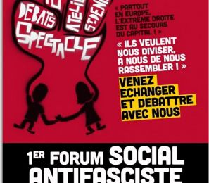 [07/04, St Denis] Forum social antifasciste