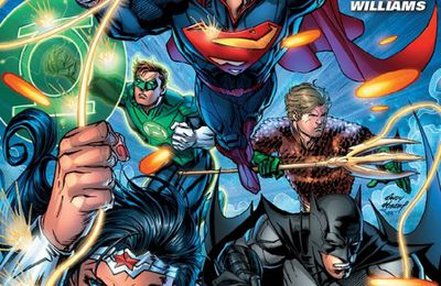 JUSTICE LEAGUE: La variant cover signée Andy Kubert !