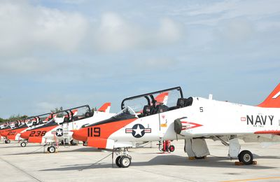 Crash d'un T-45C Goshawk de l'US Navy, les pilotes sont indemnes