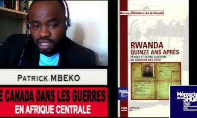 Génocide au Rwanda, Shoah de l'Afrique ? Entretien avec Patrick Mbeko