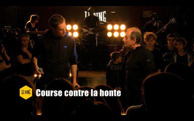 "Richard Bohringer et Grand Corps Malade ""Course contre la honte"" (Le ring)"