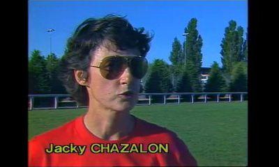 Retour sur la longue carrière de Jacky CHAZALON