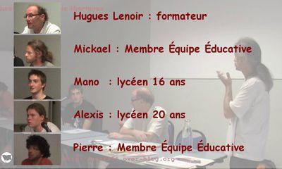 Vidéo de la soirée éducation et pédagogie libertaires du 13 juin à Vannes