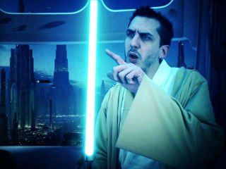 "Star Wars: Luciano ""Learn to be a Jedi"""