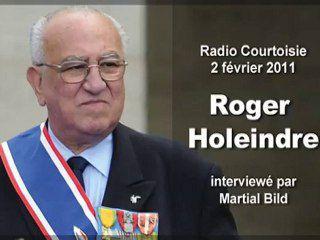 Roger Holeindre sur Radio Courtoisie