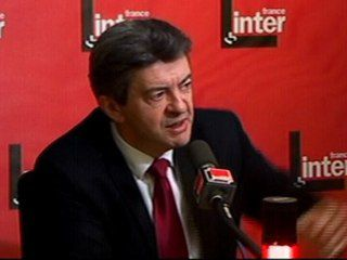 Second tour des cantonales : Jean-Luc MELENCHON sur France Inter