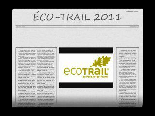 Au coeur de l'Éco-Trail de Paris 2011(partie 1)