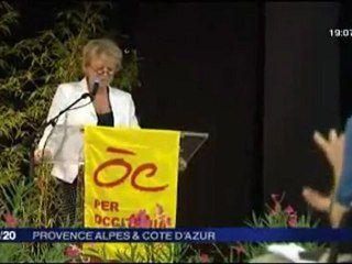 Eva Joly - Reportatge FR3 - Universitat Estiu Regions e Pobles Solidaris