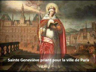 Vidéo de la messe du 1500ème anniversaire de Sainte Geneviève