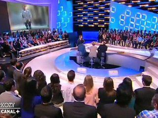 "Grand moment de solitude pour Nicolas Sarkozy au ""Grand Journal"" de Canal +"