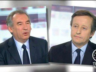François Bayrou, invité des 4 Vérités sur France 2 - 22/11/2012