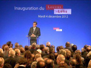 Discours Inauguration du Louvre Lens