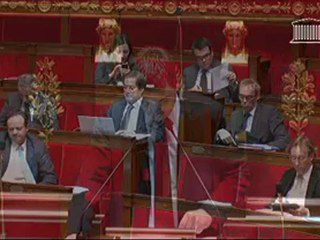Intervention à l'Assemblée nationale sur le projet de loi de finances rectificative 2012