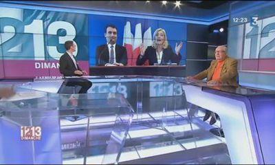 FRANCE 3:Jean Marie Le Pen commente l'actualité