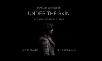 Chronique radio sur le film UNDER THE SKIN
