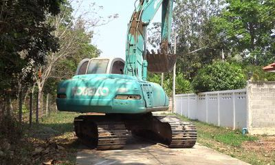 La vidéo de la machine de chantier....