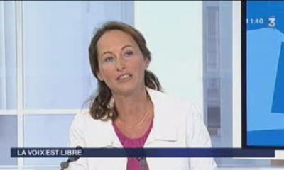 Interview de Ségolène Royal sur France 3