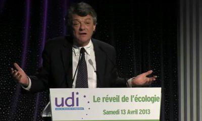 Réveil de l'écologie - Discours de Jean-Louis Borloo - samedi 13 avril 2013
