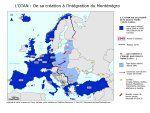 Nouvelle carte de l'OTAN à 29 pays membres après l'adhésion du Monténégro
