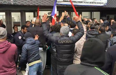 Pendant que Londres est attaquée, des musulmans de Clichy-la-Garenne affrontent la police aux cris de Allah akbar pour s'opposer à la fermeture d'une mosquée illégale